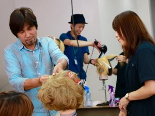 YUKARI JAPAN主催「Designers Award 2016 Hair&Make Photo Contest」フォトコン作品作り1