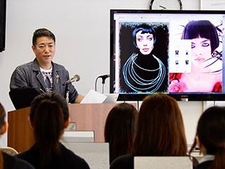 メイクアップアーティスト山口啓先生による特別授業5