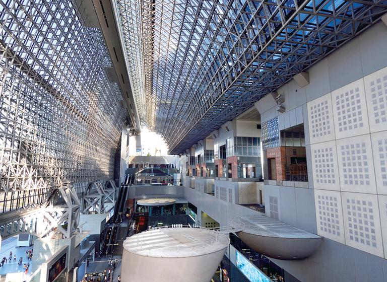 5.JR京都駅から徒歩5分