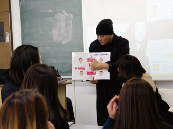 資生堂プロフェッショナル主催特別授業の様子3
