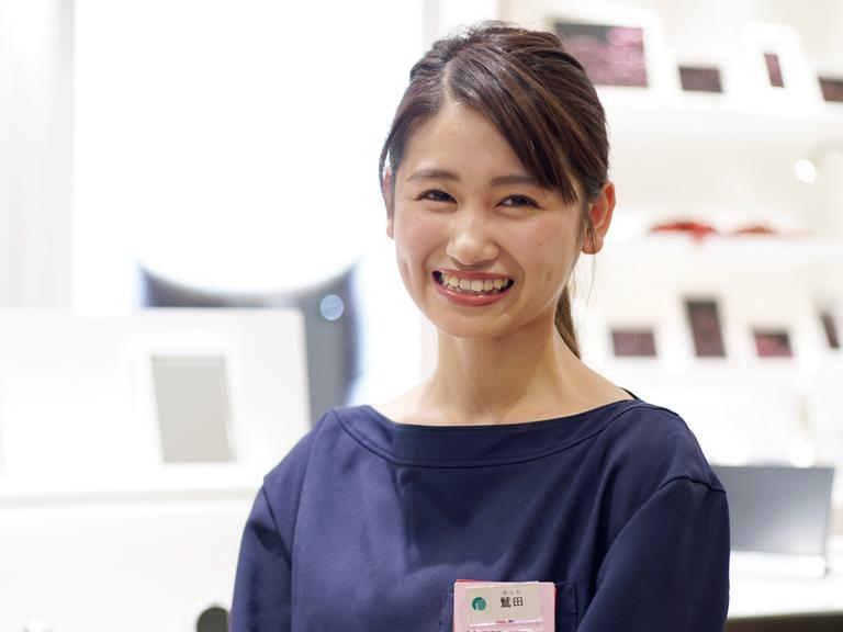 ビューティスペシャリスト科 卒業生 鷲田さん