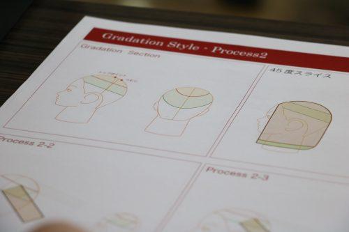 今回の課題はワンレングスのデザインをアレンジ!