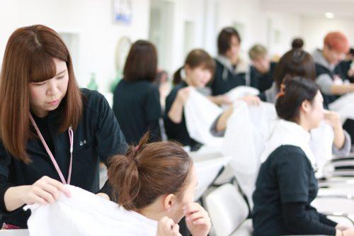 美容科 資生堂技術講習会6