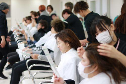 美容科 資生堂技術講習会7