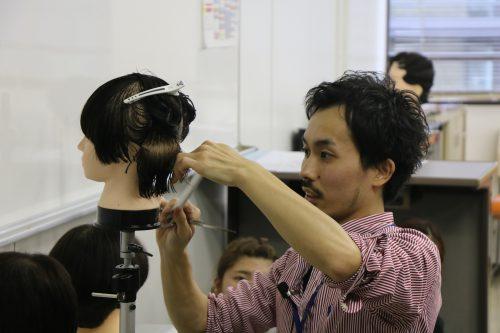 美容科 企業連携授業
