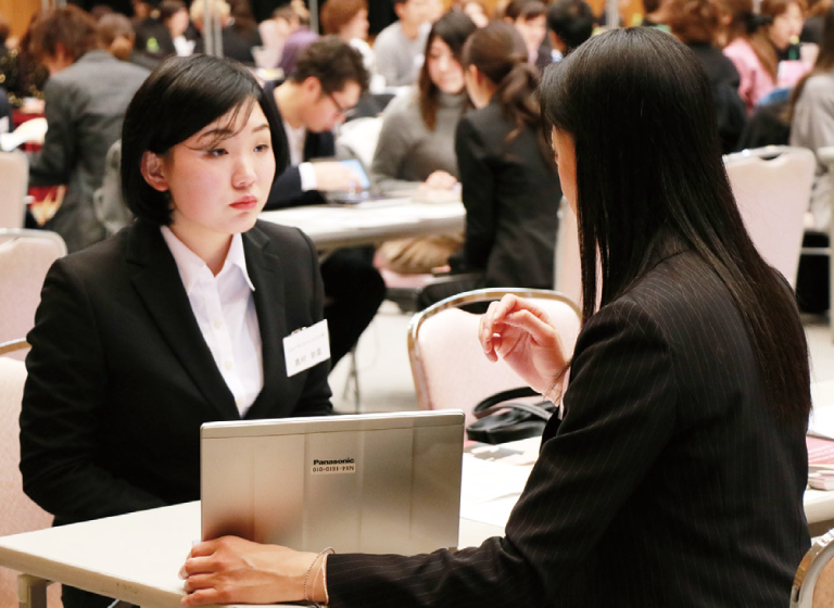 エステ系の企業説明会を多数実施。就職内定へ!