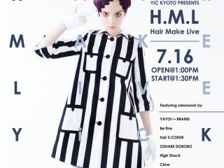 Beauty Hair Make Live poster_2018_A4_Blue決定稿_outline