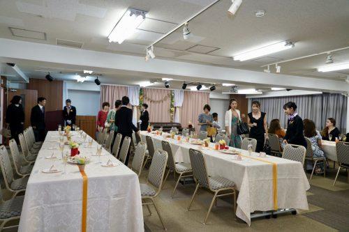 YIC京都ビューティ専門学校_ブライダル科_披露宴会場