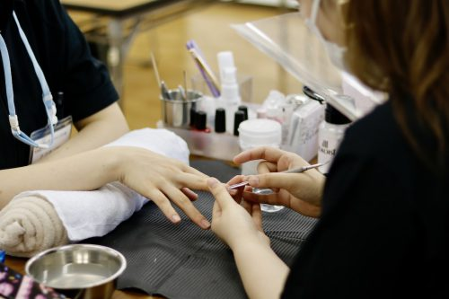 YIC京都 ビューティスペシャリスト科 ネイルコース