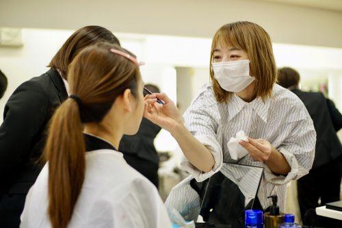 YIC京都ビューティ専門学校 メイク